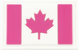 Pink Canadian Flag