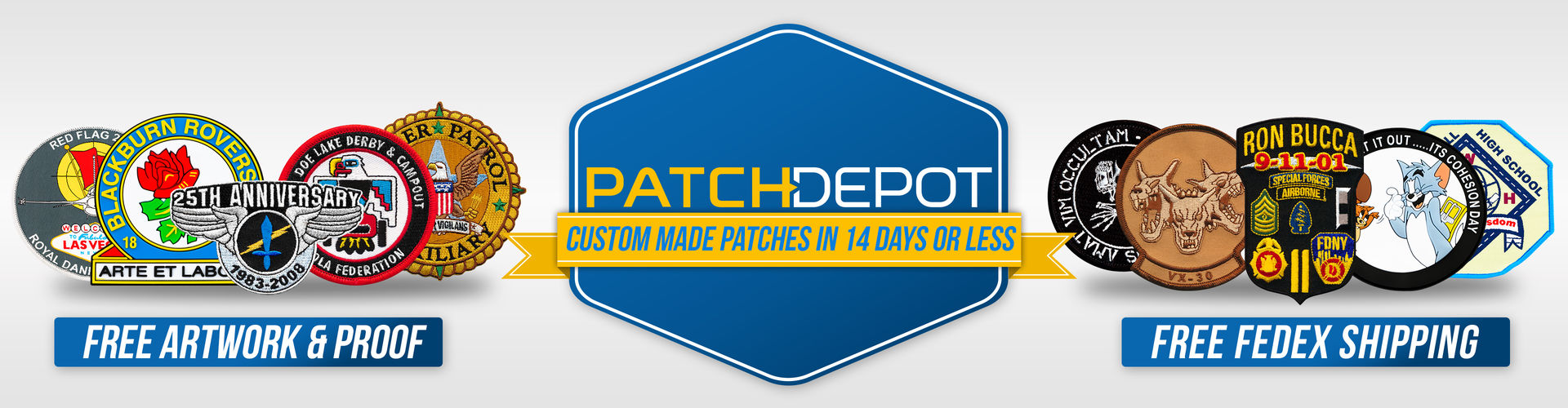 Patch Depot - Custom Made Patches in 14 Days or Less
